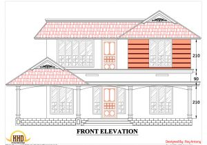 Home Building Plans Online House Plans Drawings Sloping Roof Elevation March