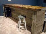 Home Built Bar Plans Man Cave Wood Pallet Bar Free Diy Plans