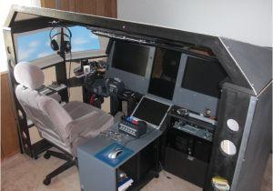 Home Built Flight Simulator Plans Diy Motion Racing Simulator Plans