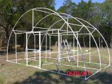 Home Built Greenhouse Plans Pictures Of A Quot Build It Yourself Quot Pvc Dome Greenhouse