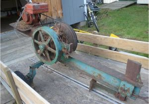 Home Built Log Splitter Plans Home Built Flywheel Log Splitter Inertia Log Splitter