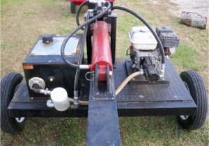 Home Built Log Splitter Plans Homemade Log Splitter Ideas Hydraulic Tank Bestofhouse