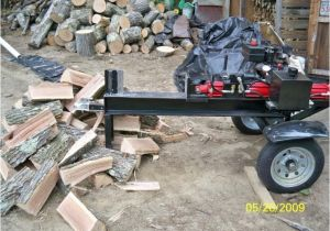 Home Built Log Splitter Plans More Homemade Wood Splitters Landscape Design Plans