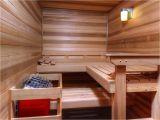 Home Built Sauna Plans Custom Saunas In New Homes Stauffer sons Construction