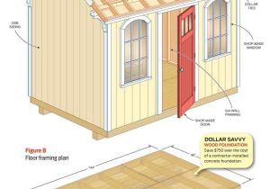 Home Built Shed Plans How to Build A Cheap Storage Shed the Family Handyman