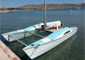 Home Built Trimaran Plans Diy Wooden Catamaran Plans Diy
