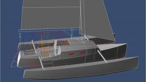Home Built Trimaran Plans Guide Trailerable Trimaran Designs Jenni Boat Plan