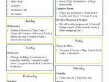 Home Cleaning Plan House Cleaning Daily House Cleaning Templates
