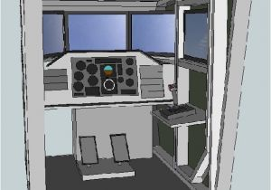 Home Cockpit Plans Diy Flight Simulator Cockpit Blueprint Plans and Panels