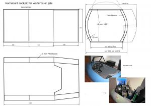 Home Cockpit Plans Flight Simulator Cockpit Plans Bing Images