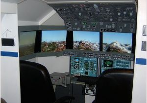 Home Cockpit Plans Homebuilt Flight Simulator