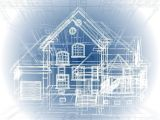 Home Construction Planning Architectural Background Part Of Architectural Project