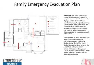 Home Daycare Fire Evacuation Plan Smartdraw Spotlight Do You Have An Emergency Evacuation Plan