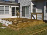 Home Deck Plans Floating Deck Plans Designs Floating Deck Against House