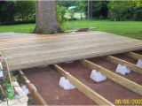 Home Depot Floating Deck Plans Floating Deck Plans Supports sold at Lowes and Home Depot