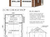 Home Depot Garage Plans Designs 2 Car attic Garage Plan with Shop In Back 864 5 24 39 X 36 39