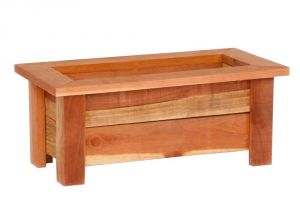 Home Depot Planter Box Plans Pennington 28 In X 9 In Wood Planter