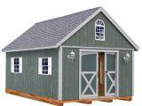 Home Depot Storage Shed Plans Best Barns Belmont 12 Ft X 24 Ft Wood Storage Shed Kit