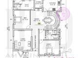 Home Design Floor Plan 5 Bedroom Contemporary House with Plan Kerala Home