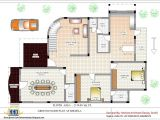 Home Design Floor Plan Luxury Indian Home Design with House Plan 4200 Sq Ft