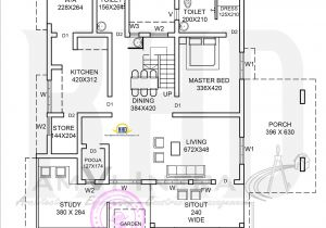 Home Design Floor Plans Elevation and Floor Plan Of Contemporary Home Kerala