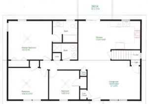 Home Design Floor Plans Simple One Floor House Plans Ranch Home Plans House