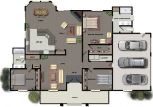 Home Design Plans 3 Bedroom House Plans Ideas