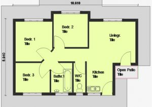 Home Design Plans Free Cheap 3 Bedroom House Plan 3 Bedroom House Plan south