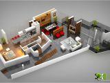 Home Design Plans Ground Floor 3d 3d Floor Plan Design Interactive 3d Floor Plan Yantram