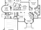 Home Design with Floor Plan Hennessey House 7805 4 Bedrooms and 4 Baths the House