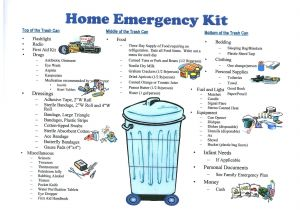 Home Disaster Plan Disaster Emergency Preparedness