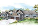 Home Duplex Plans Craftsman House Plans Lincolnshire 60 032 associated