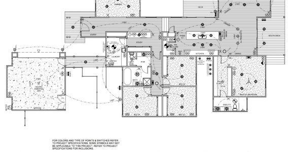 Home Electrical Plan the Electrical Plan Lot 271