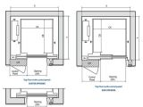 Home Elevator Plans Compact Mrls Plan Of Hoistway Diploma Pinterest