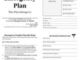 Home Emergency Plan Template Emergency Planning Quotes Quotesgram