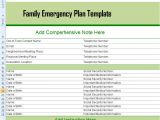 Home Emergency Plan Template Home Disaster Plan Example Home Design and Style