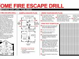Home Escape Plan Template Best Photos Of Fire Drill Plan Template Office Fire