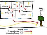 Home Escape Plan Template Escape Plans Fire Department