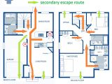 Home Escape Plan Template Firesafety