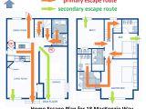 Home Escape Plan Template Home Escape Plans Goldsealnews