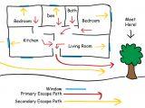 Home Escape Plan Template Public Safety Home Escape Plan Ontario association Of