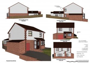 Home Extensions Planning Permission Planning Permission Drawingsian Cleasby Drafting Design