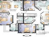 Home Family Plans Multi Family House Plans Triplex House Plans Family House