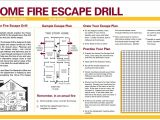 Home Fire Escape Plan Home Fire Safety