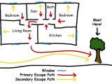 Home Fire Escape Plan Template Escape Plans Fire Department