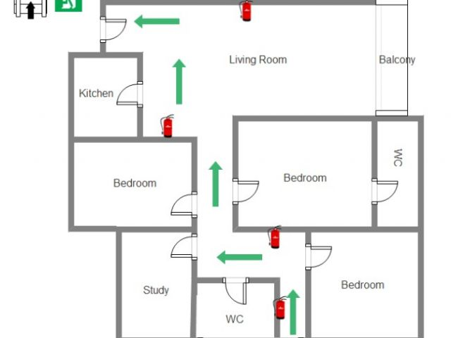 home fire escape plan template home fire and emergency plan free