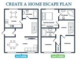 Home Fire Escape Plan Template Marvellous House Fire Plan Images Best Inspiration Home