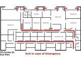 Home Fire Evacuation Plan Template Home Fire Evacuation Plan Template