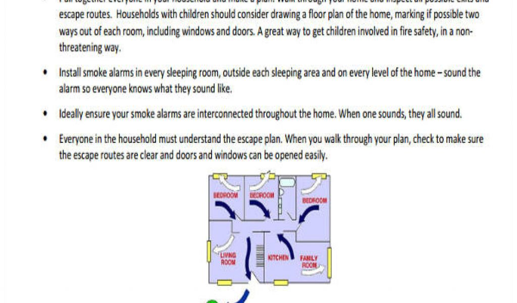 Home Fire Prevention Plan 29 Safety Plan Samples Free Premium