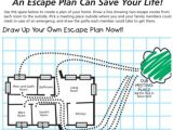 Home Fire Prevention Plan Home Safety Plan Worksheet Home Design and Style